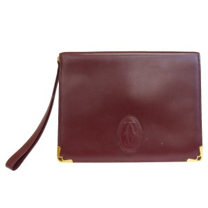 Cartier Bordeaux Clutch