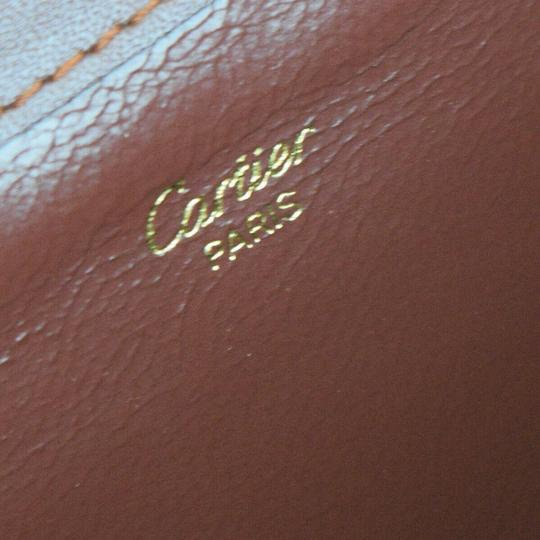 Cartier Bordeaux Clutch Image 10