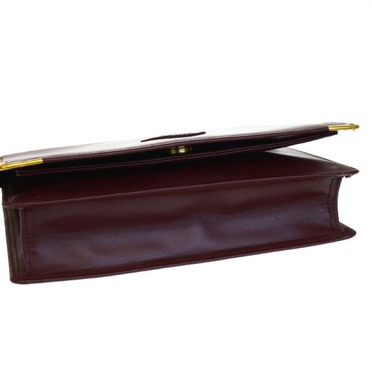 Cartier Bordeaux Clutch Image 3