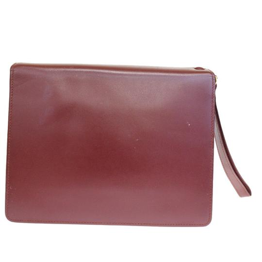 Cartier Bordeaux Clutch Image 4