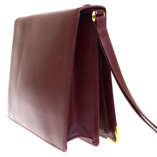 Cartier Bordeaux Clutch Image 5