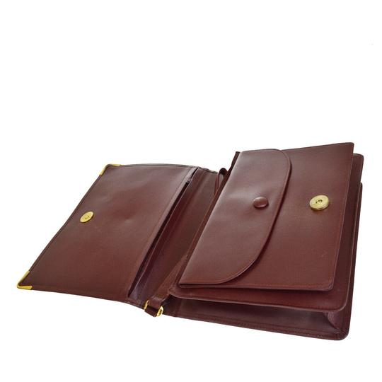 Cartier Bordeaux Clutch Image 7