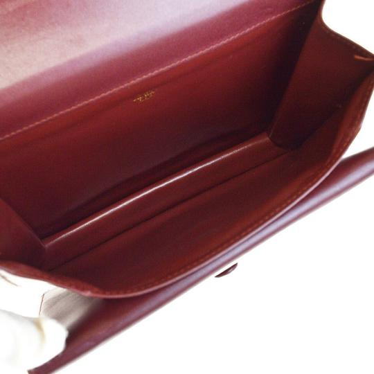 Cartier Bordeaux Clutch Image 8