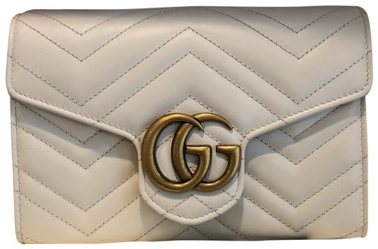 Preload https://img-static.tradesy.com/item/26021442/gucci-gg-wallet-on-chain-marmont-new-flap-white-leather-cross-body-bag-0-2-540-540.jpg