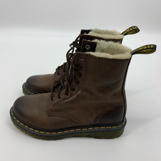Dr. Martens Brown Boots Image 1