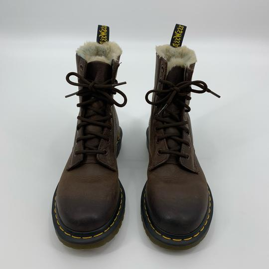 Dr. Martens Brown Boots Image 2