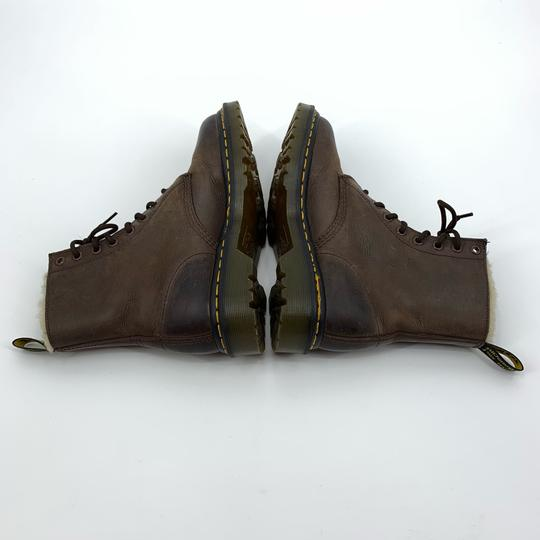 Dr. Martens Brown Boots Image 3