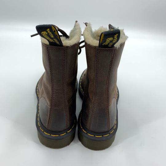 Dr. Martens Brown Boots Image 4