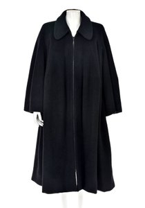 Unique Vintage One Size Wool Swing Trench Coat