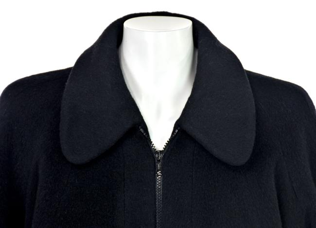 Unique Vintage One Size Wool Swing Trench Coat Image 3