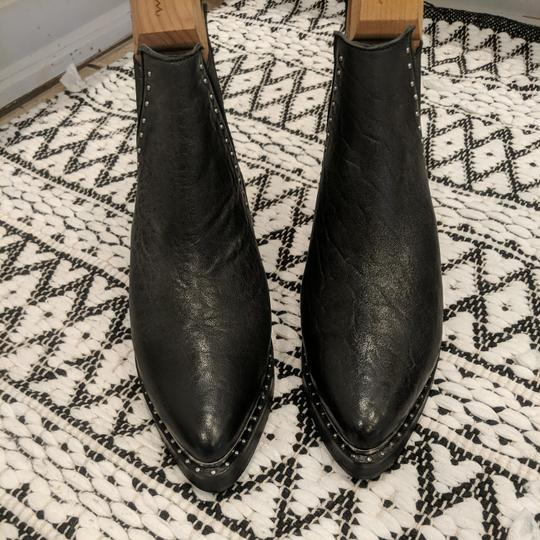 Preload https://item4.tradesy.com/images/one-teaspoon-black-with-small-silver-studs-by-bootsbooties-size-eu-38-approx-us-8-regular-m-b-26021518-0-0.jpg?width=440&height=440