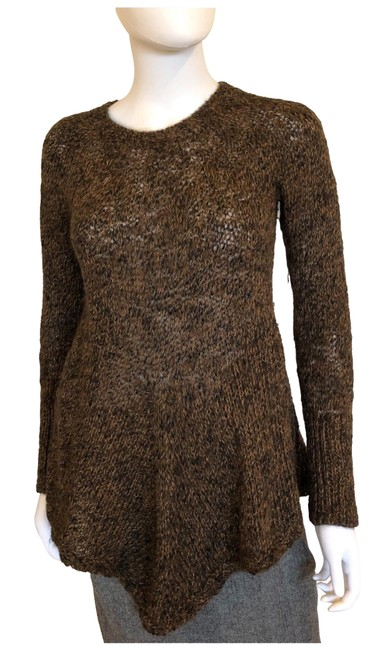 Preload https://img-static.tradesy.com/item/26021527/peruvian-connection-alpaca-handkerchief-hemline-brown-sweater-0-1-650-650.jpg