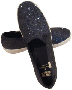 Kate Spade BLUE glitter Athletic