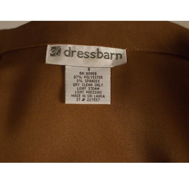 Dress Barn Faux suede Jacket and Paisley Skirt Image 6