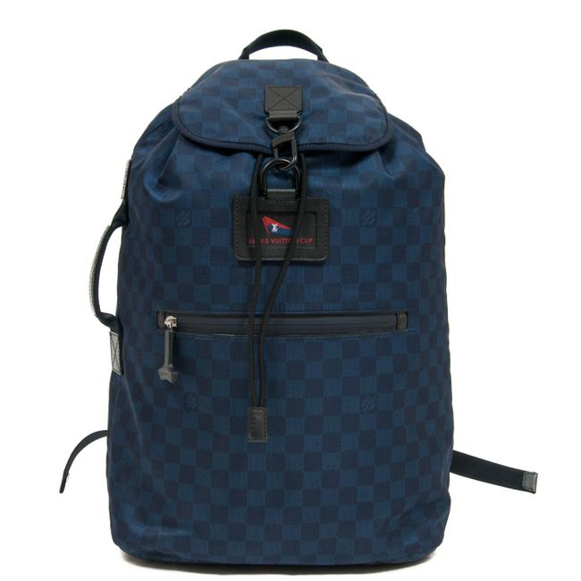 Item - Noé Ostro Damier Challenge Collection Navy Backpack