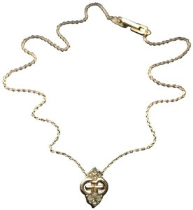 Givenchy Crystal G Necklace
