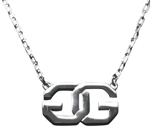 Givenchy Siver GG Necklace