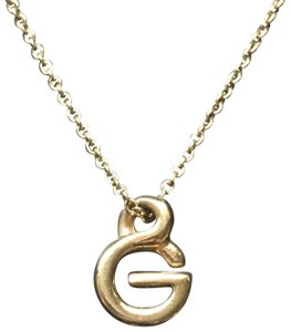 "Givenchy ""G"" Necklace"