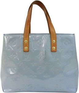 Louis Vuitton Satchel in Blue steel grey