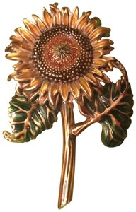 rmuseum Sunflower pin