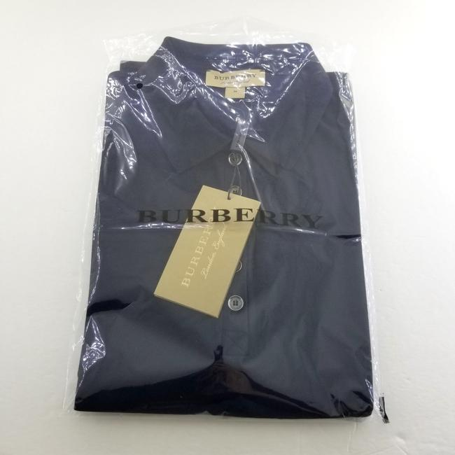 Burberry T Shirt Navy Blue Image 2