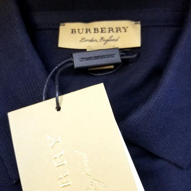 Burberry T Shirt Navy Blue Image 3