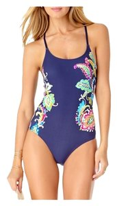 Anne Cole Anne Cole Graphic Floral One-Piece Swimsuit