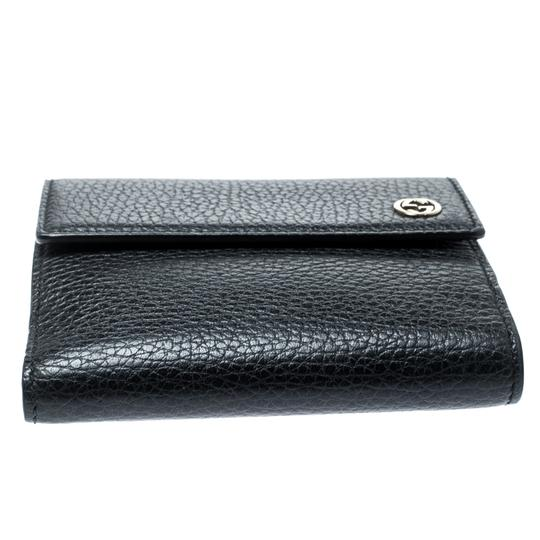 Gucci Black Leather Double G Wallet Image 3