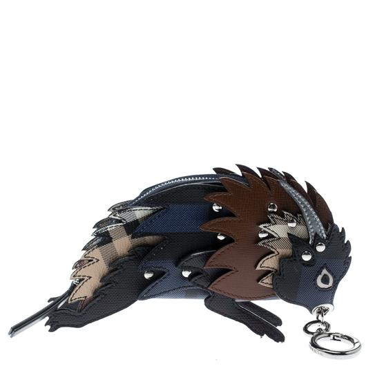 Burberry Multicolor Leather Bull Bag Charm Image 2