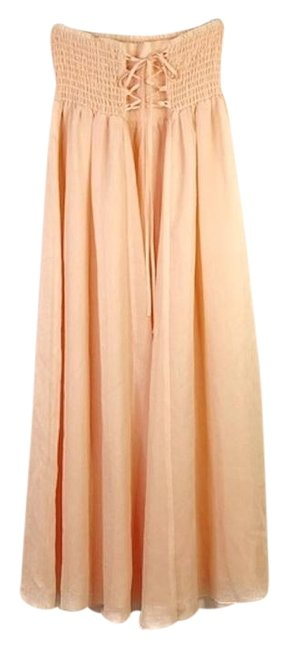 Preload https://img-static.tradesy.com/item/26022555/free-people-peach-cross-my-heart-convertible-skirt-mid-length-casual-maxi-dress-size-2-xs-0-2-650-650.jpg