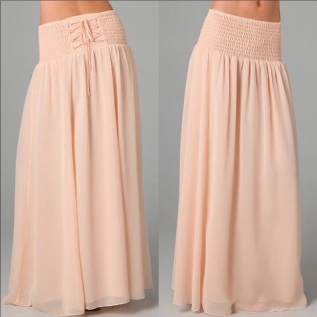 Peach Maxi Dress by Free People Image 2