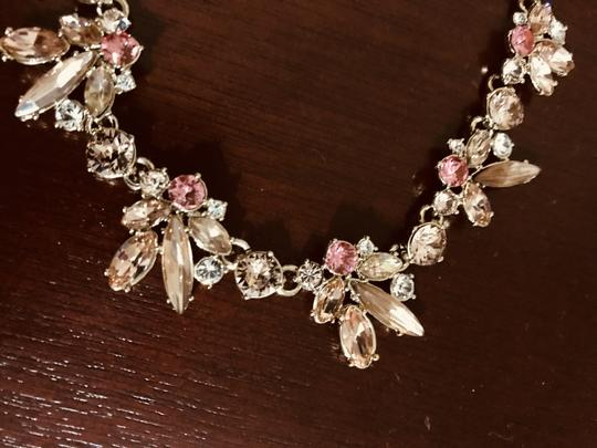 Givenchy Givenchy Gold-tone Accent Frontal Crystal Necklace Image 1