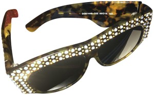 Gucci Oversized acetate with crystals