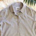 Rails Button Down Shirt Florence Stripe Pearled Image 5