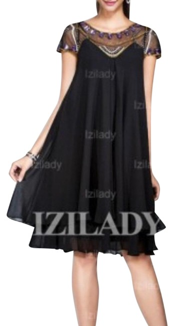 Preload https://img-static.tradesy.com/item/26022652/izidress-navy-empire-beaded-mid-length-formal-dress-size-16-xl-plus-0x-0-1-650-650.jpg