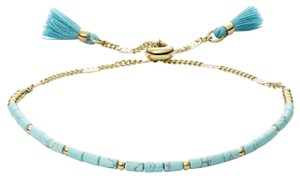Fossil NEW Fossil Turquoise Beaded Bracelet JF03137710