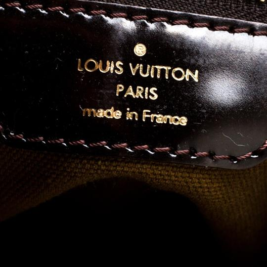 Louis Vuitton Monogram Leather Tote in Brown Image 8