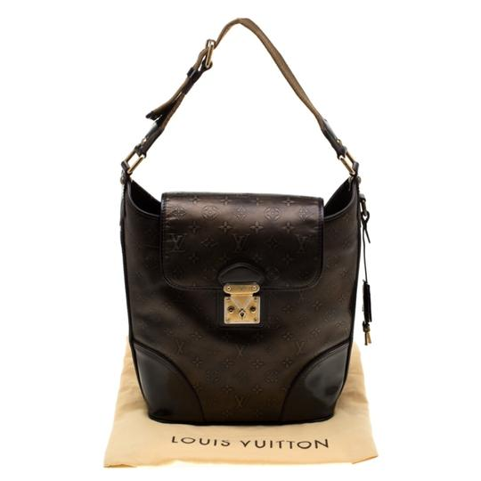 Louis Vuitton Monogram Leather Tote in Brown Image 9
