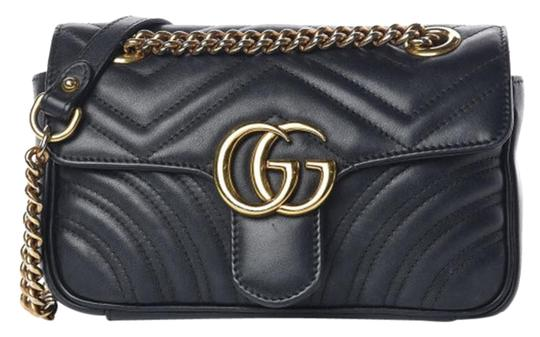 Preload https://img-static.tradesy.com/item/26022786/gucci-marmont-calfskin-matelasse-mini-gg-black-leather-cross-body-bag-0-1-540-540.jpg