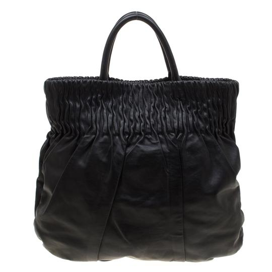 Prada Leather Hobo Bag Image 6