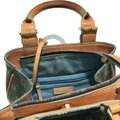 Dooney & Bourke Dooneyandbourke Purse Handbag Satchel in Black & Multicolor Image 4