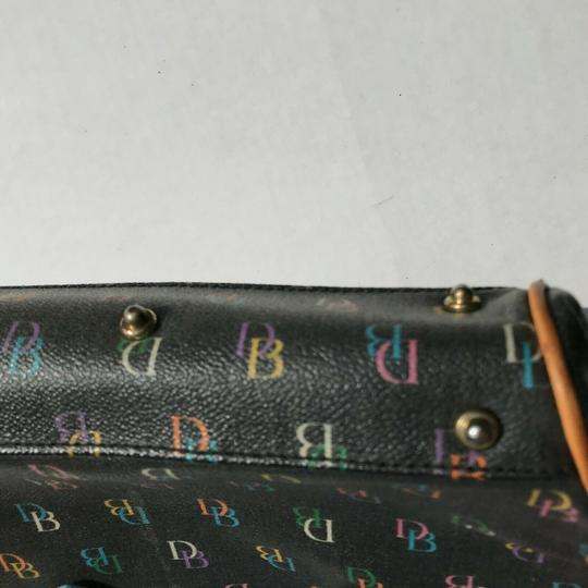Dooney & Bourke Dooneyandbourke Purse Handbag Satchel in Black & Multicolor Image 5