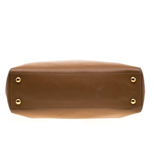Prada Leather Brown Clutch Image 3