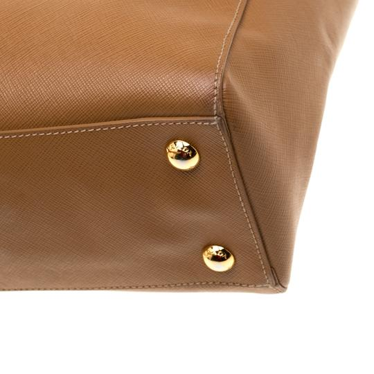 Prada Leather Brown Clutch Image 5