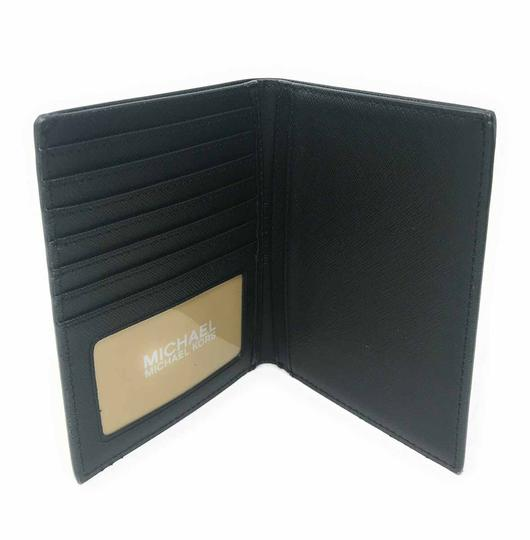 Michael Kors Michael Kors Jet Set Travel Passport Case Leather Signature Wallet Image 4