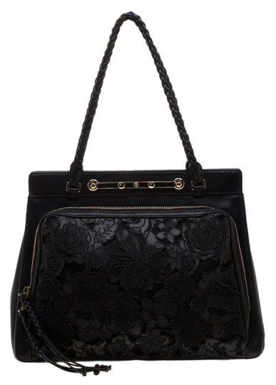 Preload https://img-static.tradesy.com/item/26022876/valentino-demetra-black-leather-and-lace-tote-0-1-540-540.jpg
