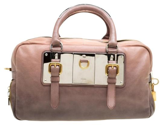 Preload https://img-static.tradesy.com/item/26022883/prada-bauletto-ombre-brownblack-glace-zippers-brown-leather-satchel-0-3-540-540.jpg
