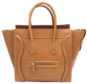 Céline Luggage Luggage Tote in Tan Camel