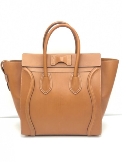 Céline Luggage Luggage Tote in Tan Camel Image 1