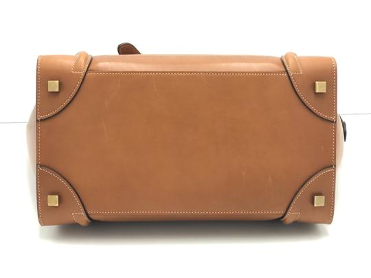 Céline Luggage Luggage Tote in Tan Camel Image 4